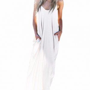 Comprar vestido blanco largo ibicenco